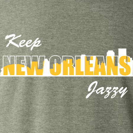 Keep New Orleans Jazzy