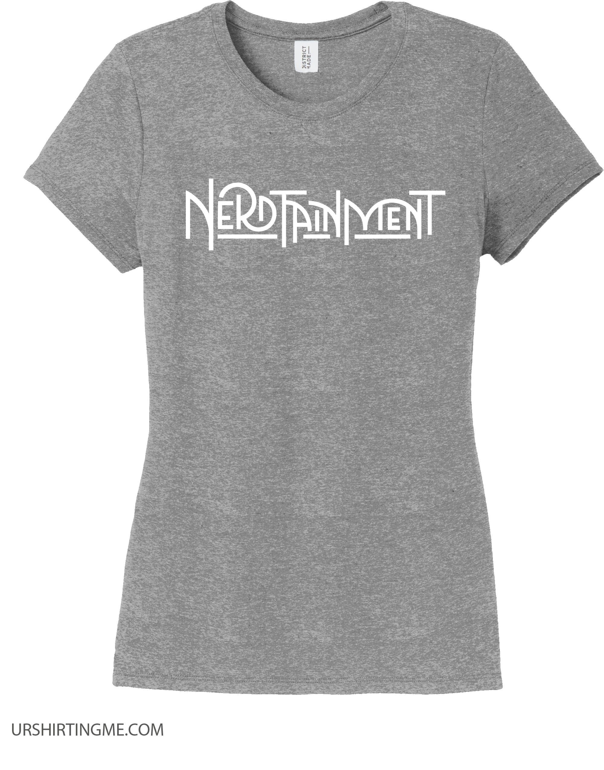 Nerdtainment Logo White