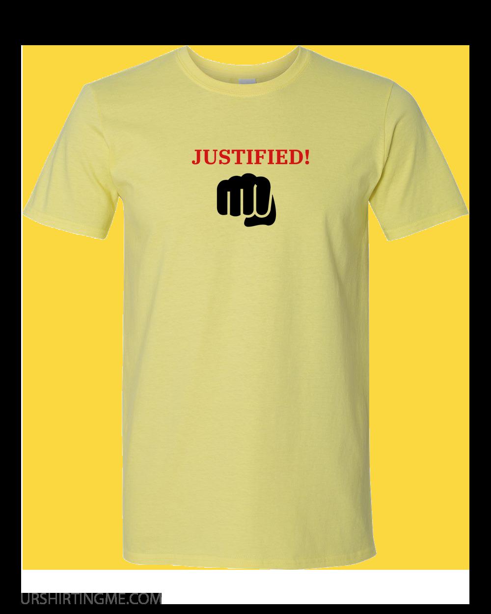 JUSTIFIED!