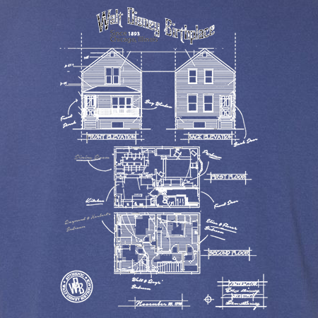Walt Disney Birthplace Blueprint