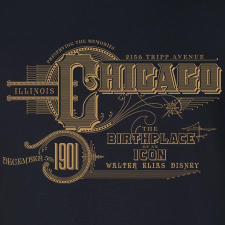 Walt Disney Birthplace Chicago