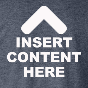 Insert Content Here